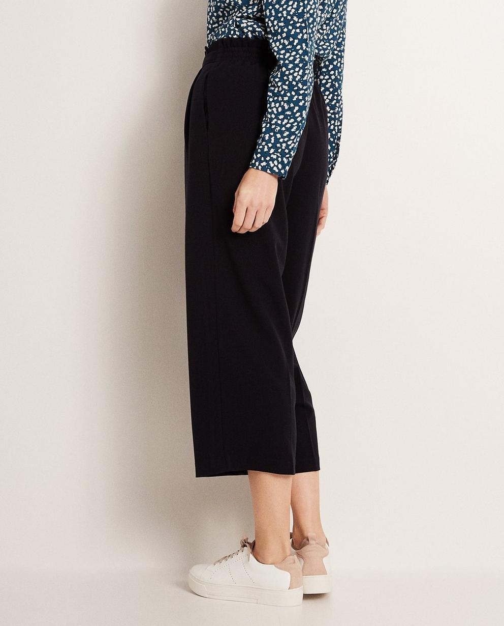 Pantalons - navy - Jupe-culotte en viscose